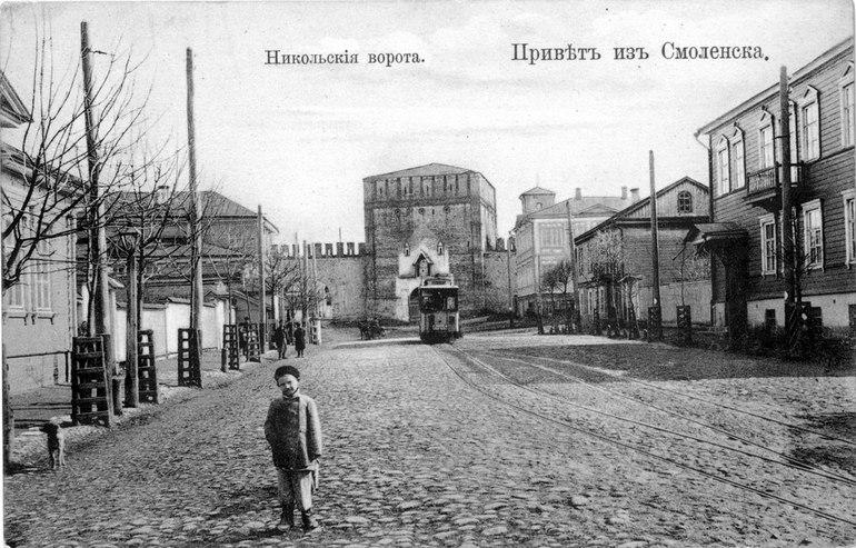 Надвратная икона появится на Никольских воротах Смоленска