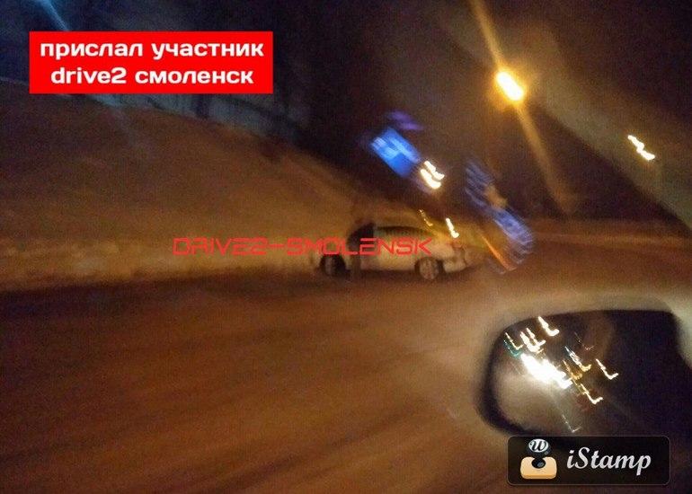Серьёзная авария случилась на Дзержинского в Смоленске