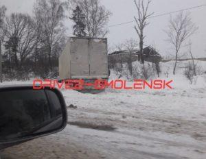 Под Смоленском на федеральной трассе произошло страшное ДТП