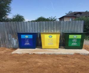 Первые контейнеры для раздельного сбора мусора появились на территории Смоленского района
