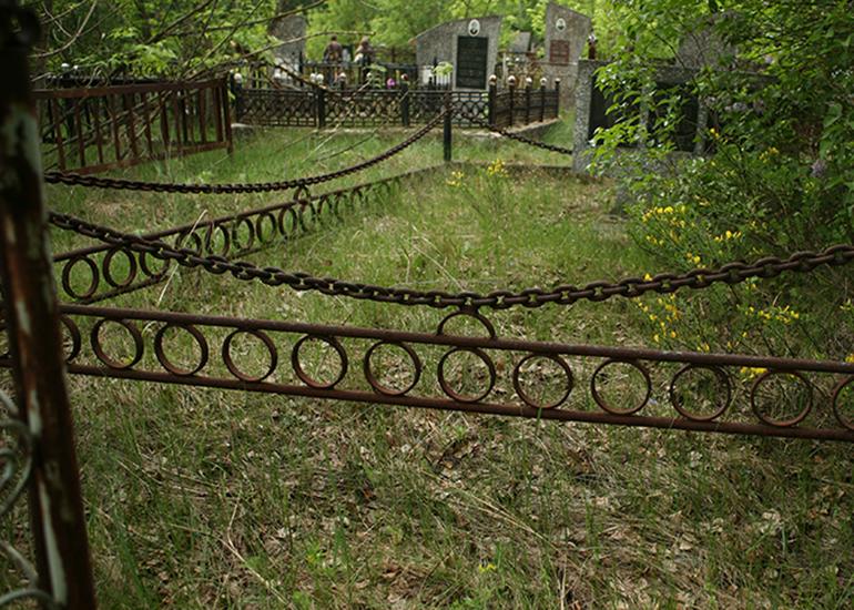 оградки из цепей фото модели