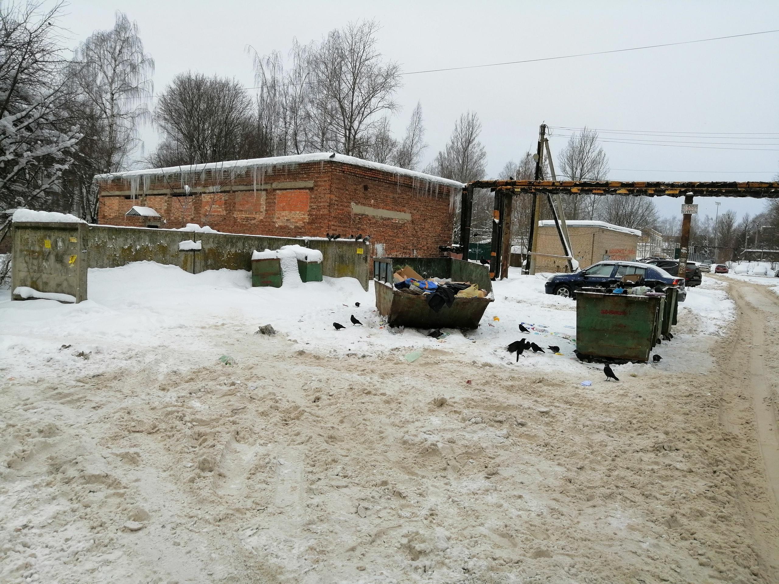 Жители Смоленска продолжают жаловаться на плохую уборку дворов