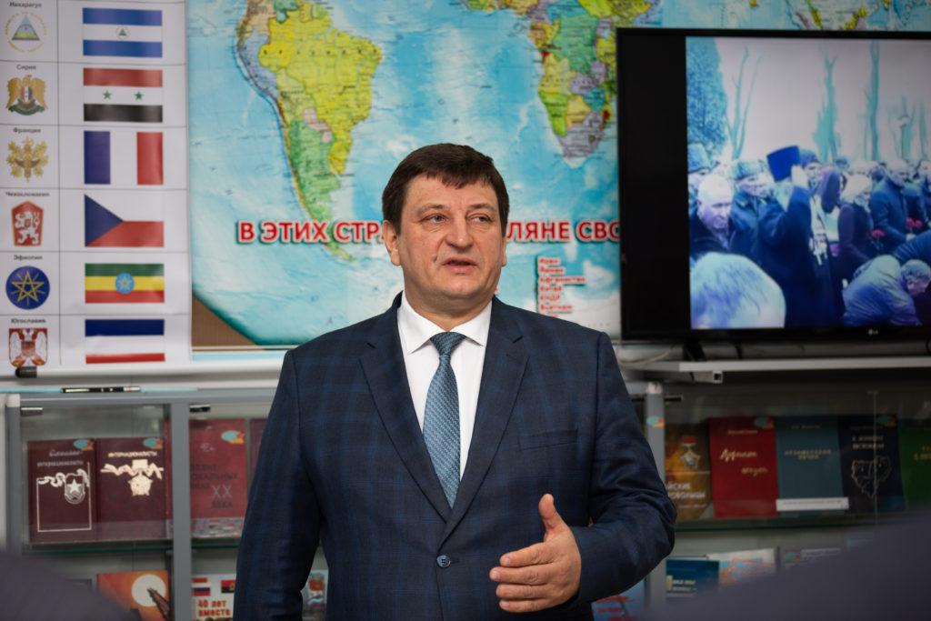 СмолГУ открыл обновленный музей воинов-интернационалистов