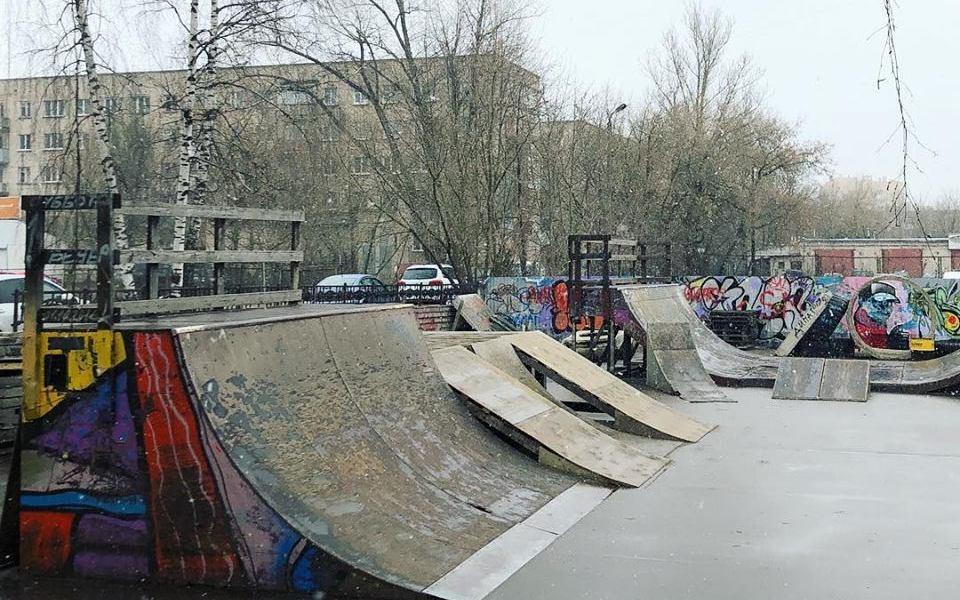 В Смоленске скейт-парк приведут в порядок