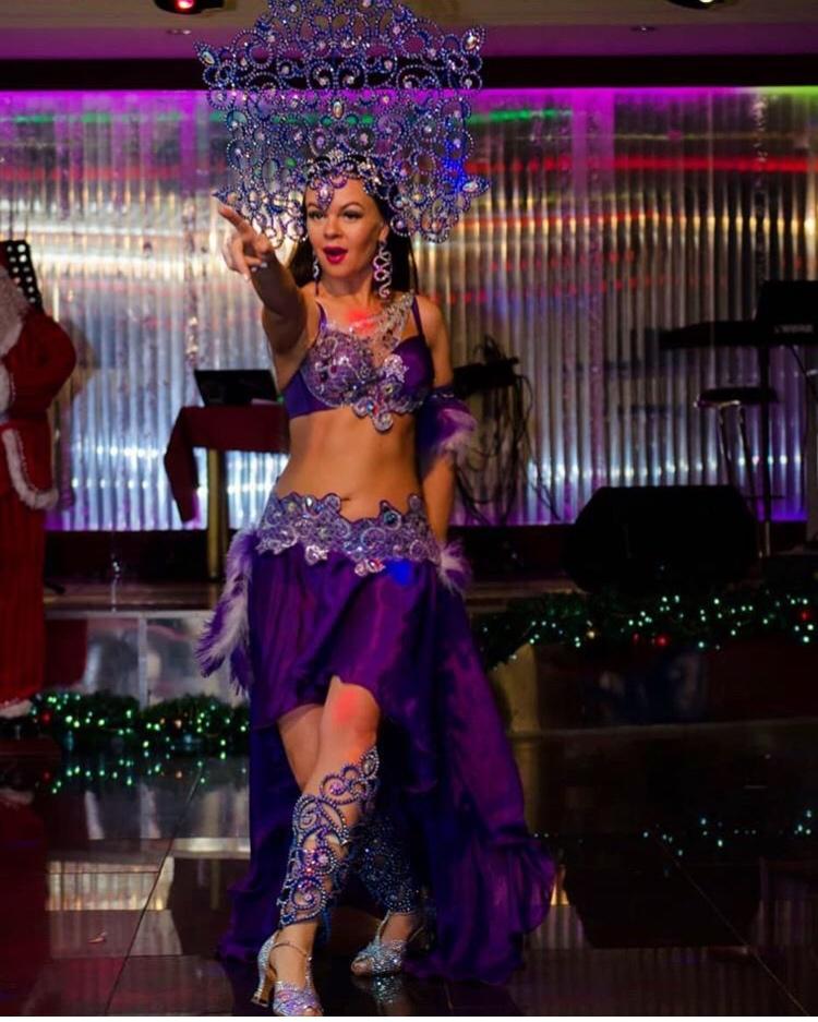 Бесстрашная Амина, или магия танца и экзотики