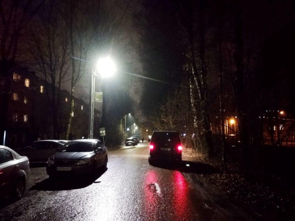 Глава Смоленска проинспектировал городские улицы с новым освещением