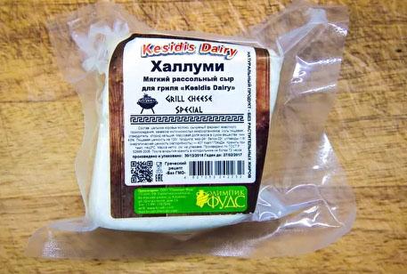 Халлуми Kesidis Dairy. Знаменитый сыр для жарки производят на Смоленщине