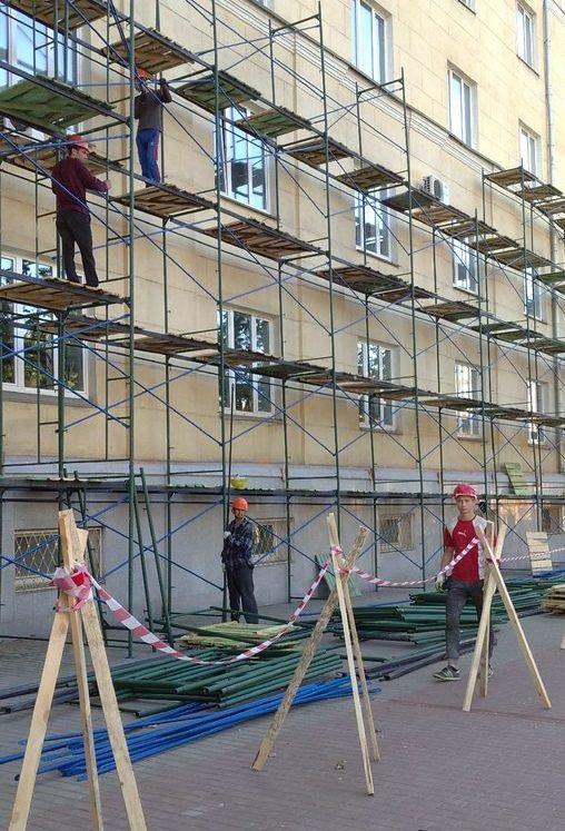 В Смоленске стартовал ремонт здания Медуниверситета