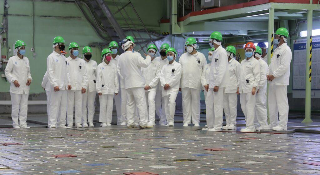 Авторы лучших видеороликов конкурса «Атом рядом» посетили Смоленскую АЭС