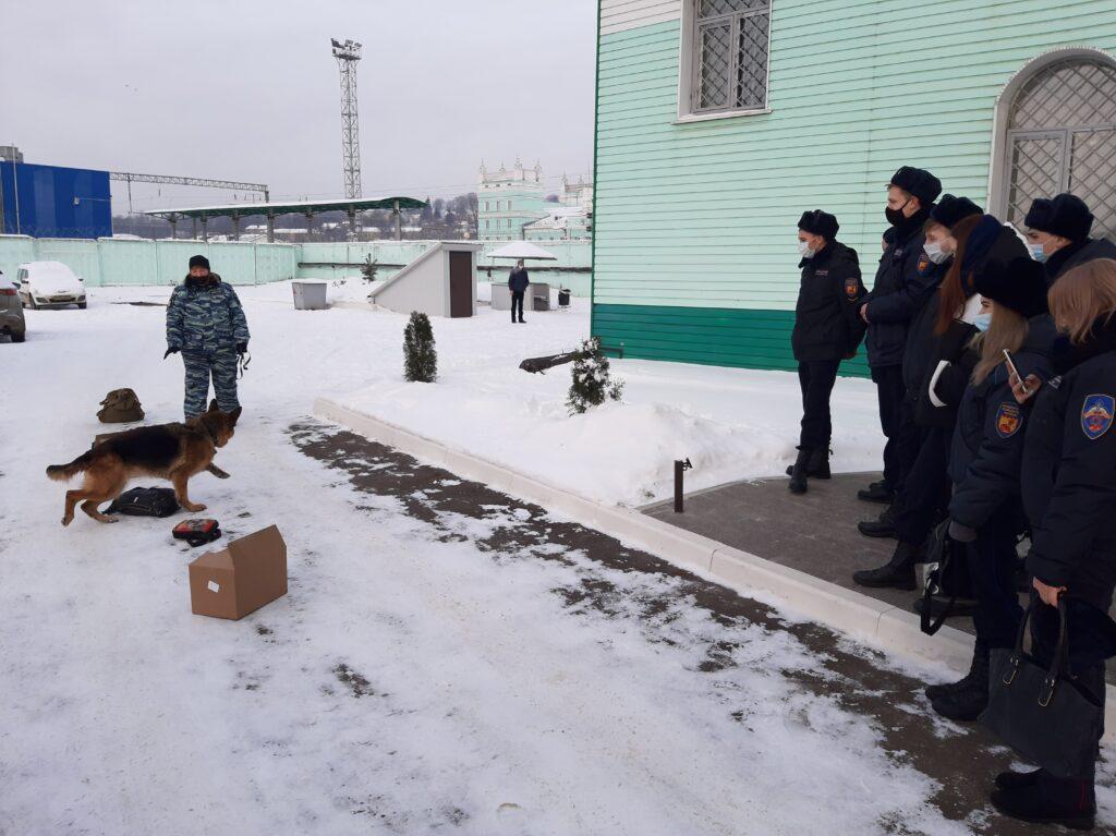 В ЛО МВД России на станции Смоленск высадился «Студенческий десант»