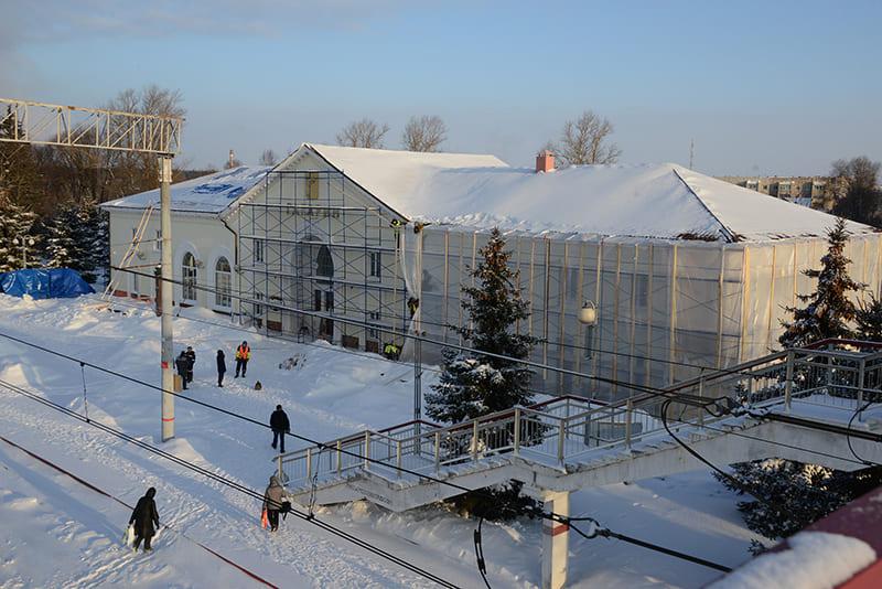 вокзал в Гагарине