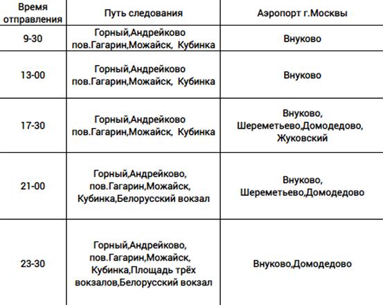 Автобусы из Смоленска будут ходить до аэропортов Москвы