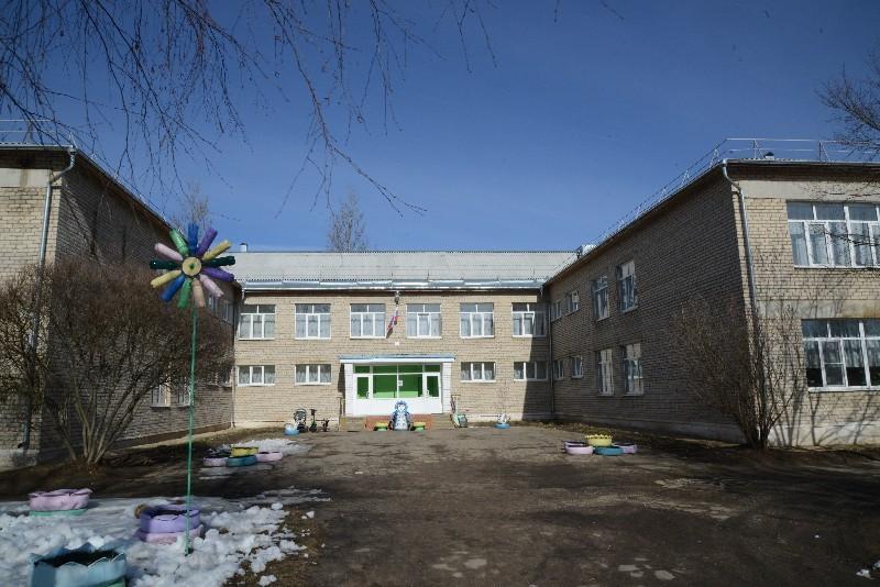 здание садика