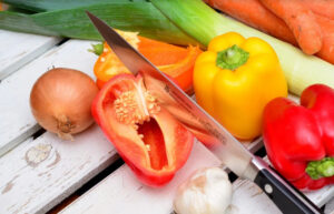 овощи нож