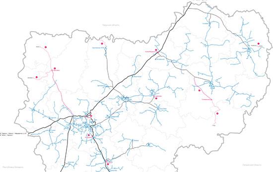 Отслеживать темпы газификации смоляне могут на интерактивной карте