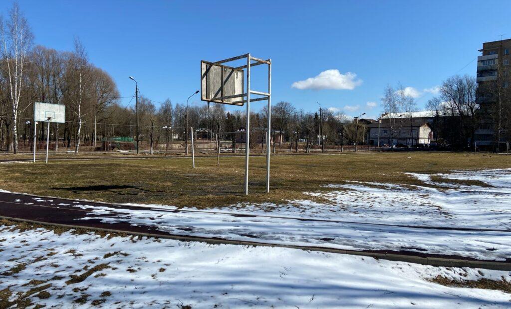 В Гагарине для школы №3 построят современную спортплощадку