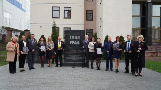 Сотрудники судов Смоленской области почтили память погибших в годы войны