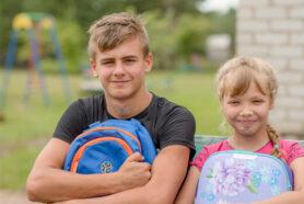 дети рюкзак