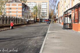отремонтированная улица
